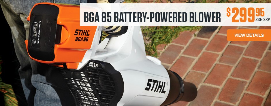 BGA 85 Battery-Powered Blower